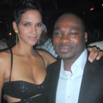 Halle Berry and Amosu