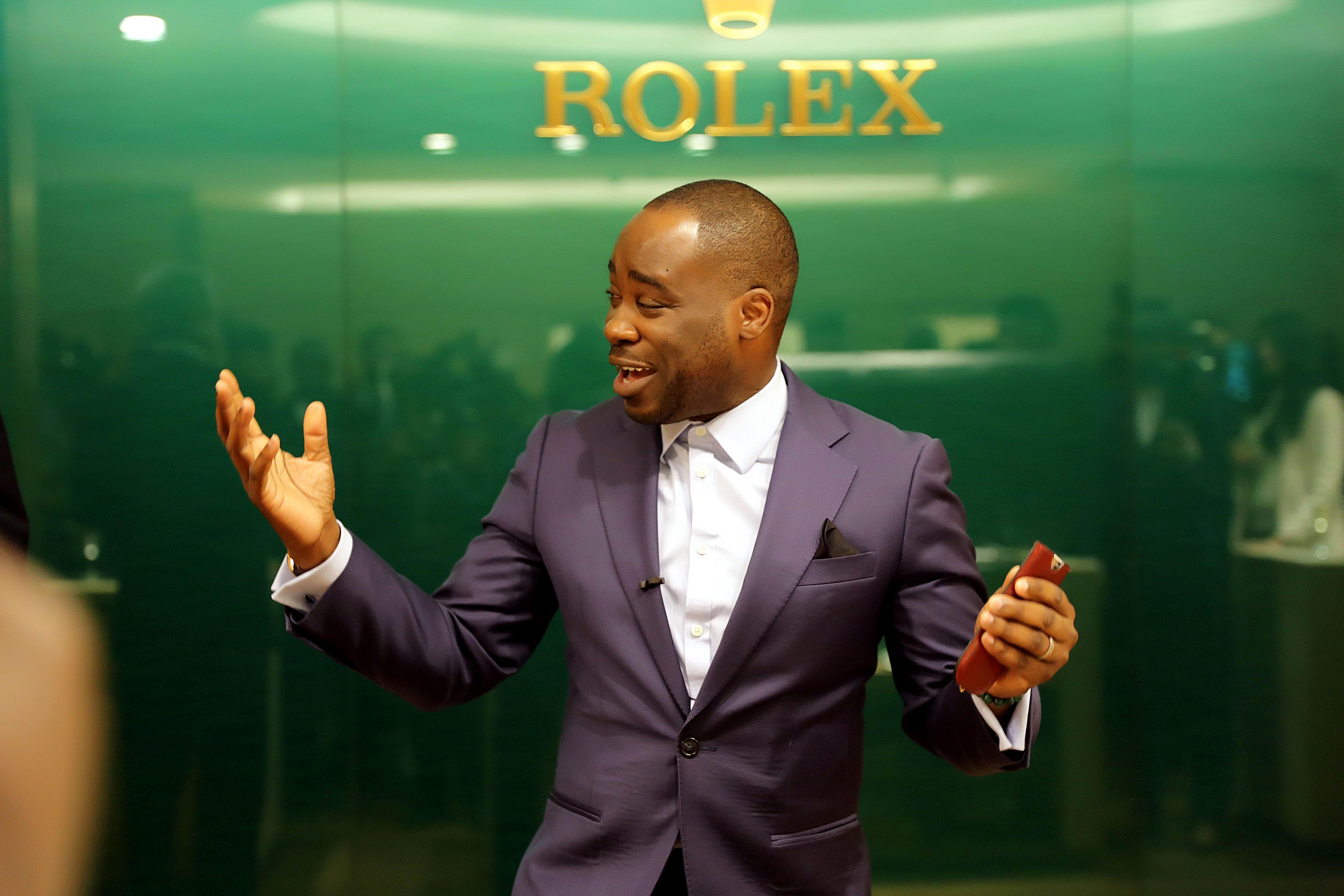 Lux Afrique - Rolex Launch Alexander Amosu